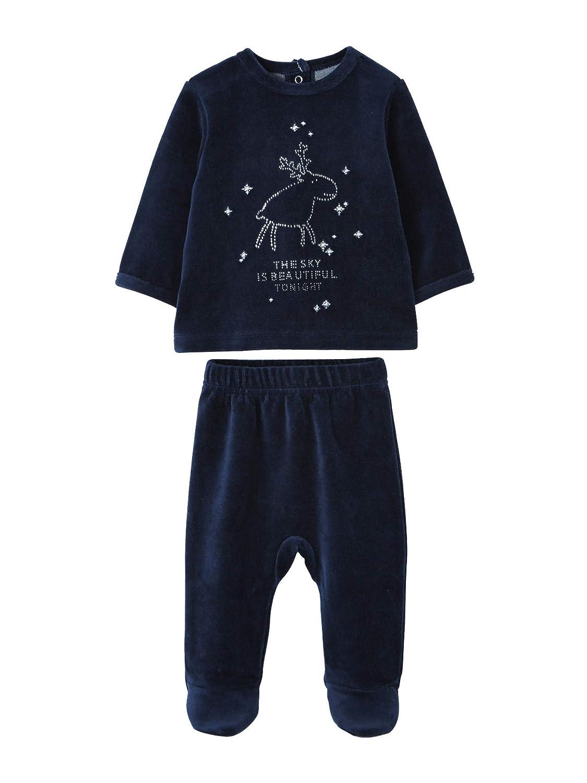 67d5130b1cd1f VERTBAUDET Pyjama bébé 2 pièces renne de Noël Marine grisé 36M - 94CM   Amazon.fr  Bébés   Puériculture