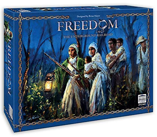 Academy Games 5400AYG Freedom The Underground Railroad 2018, Not Applicable (Game Board 1775 Rebellion)