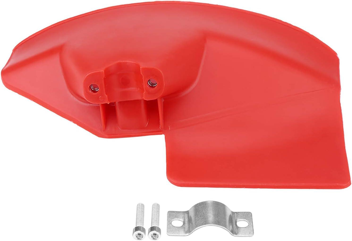 Teror Desbrozadora de protección, Protector de protección de desbrozadora de 1 Pieza para 24 26 28 mm de diámetro. Cortador de Cepillo Cortador de Eje