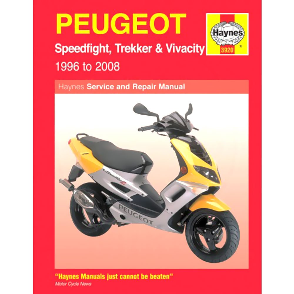 Haynes Manual 3920 Peugeot SPEEDFIGHT/TREKKER & VIVACity 0322431 MCH322431