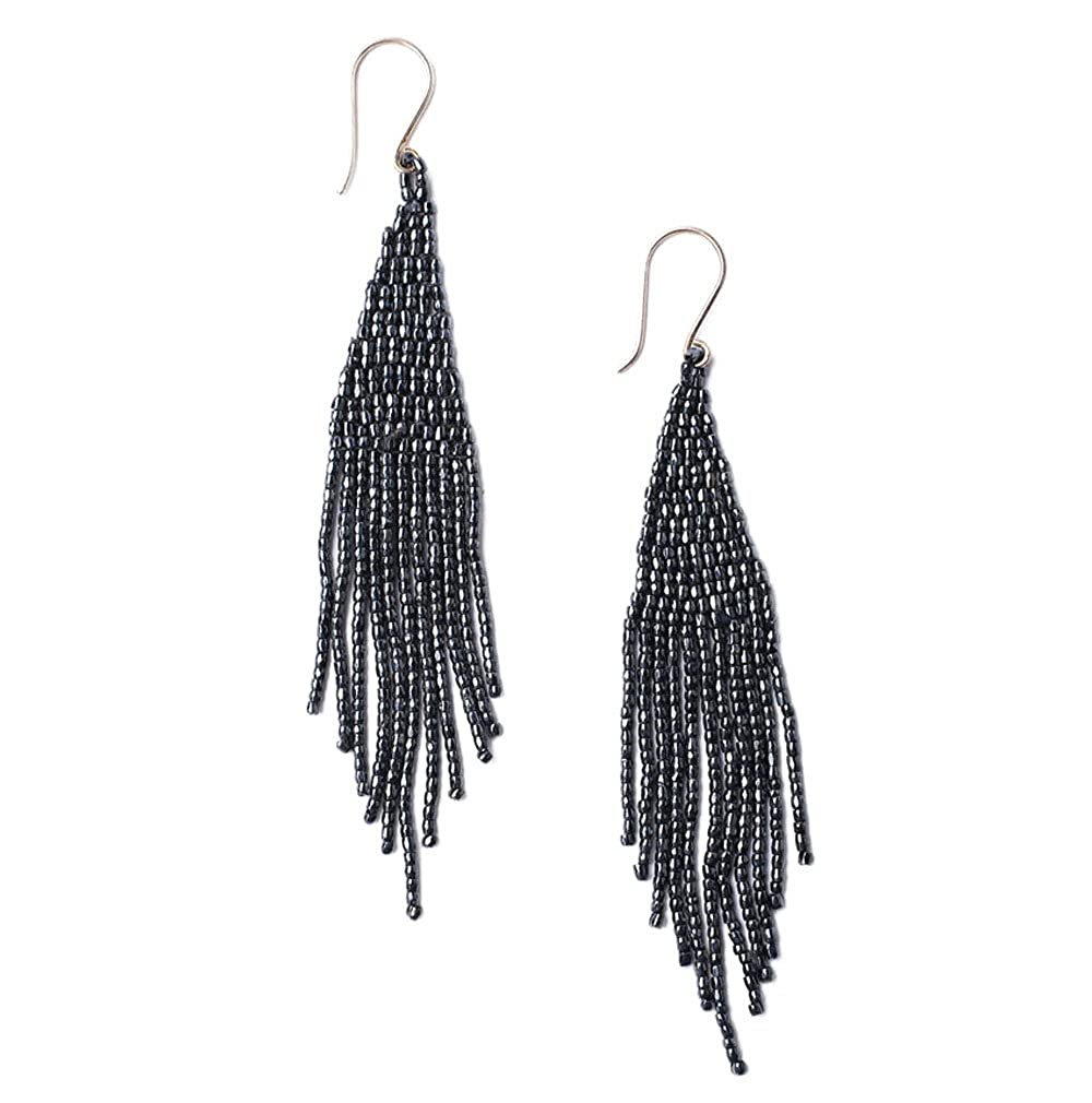 Chan Luu Womens Bead Fringe Earrings TH-ER-9500