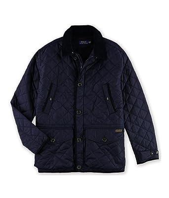 Ralph Lauren Mens Diamond Quilted Jacket Blue 2lt Big Tall At