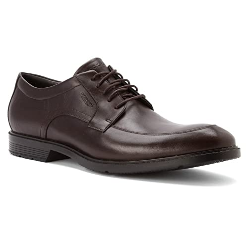 Rockport Mens City Smart WP Apron Toe OxfordDark Bitter Chocolate13