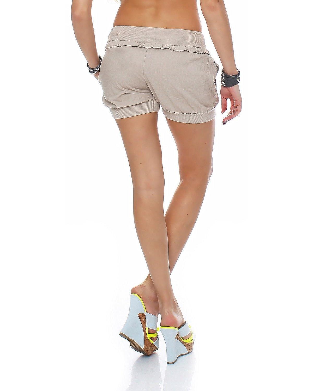 ZARMEXX Trendy da donna Bermuda Short Pantaloni caldi Short Bloomers Shorty Sport Leisure