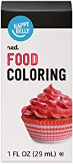 Amazon Brand - Happy Belly Red Food Color 1 fl oz