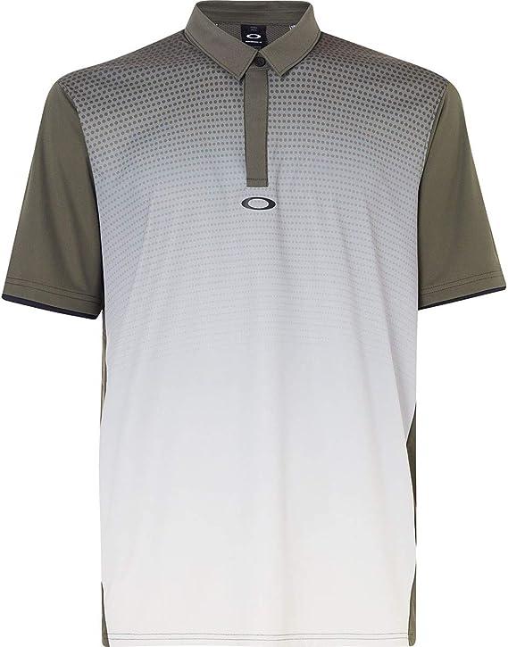 Oakley Mens Polo Shirt Ss Poliammide, Dark Brush, XS: Amazon.es ...
