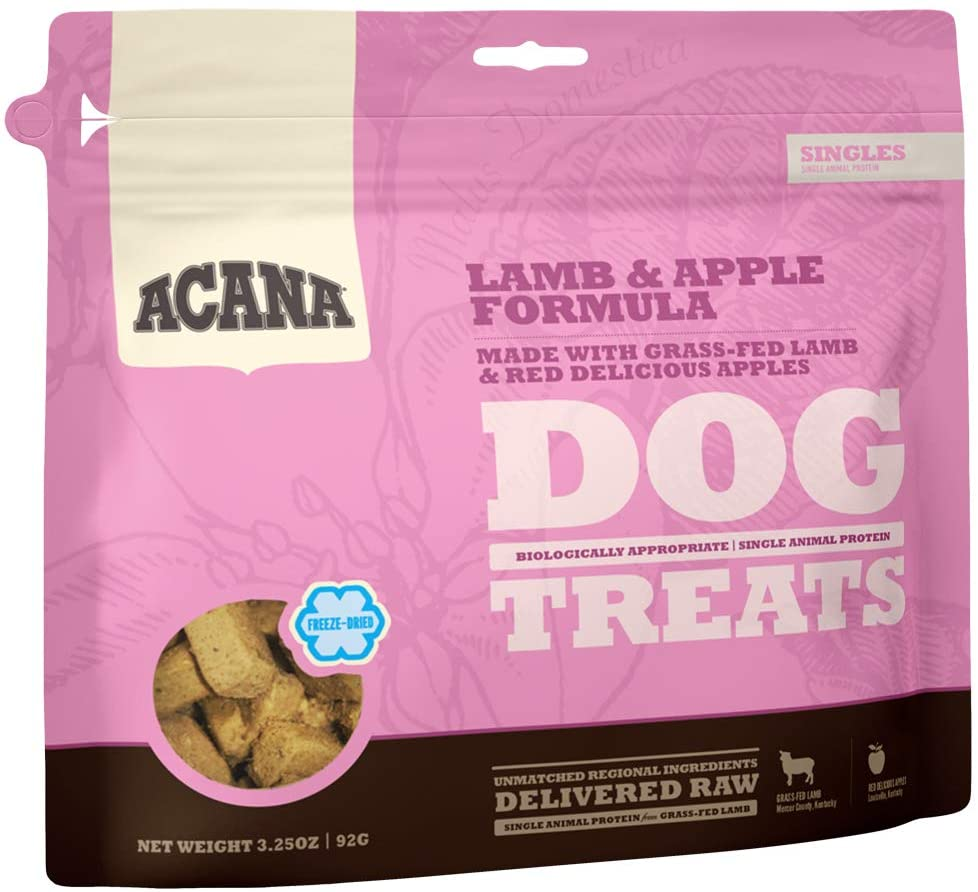Acana Grain Free Dog Treats, Limited Ingredients and Freeze-Dried, Made in USA
