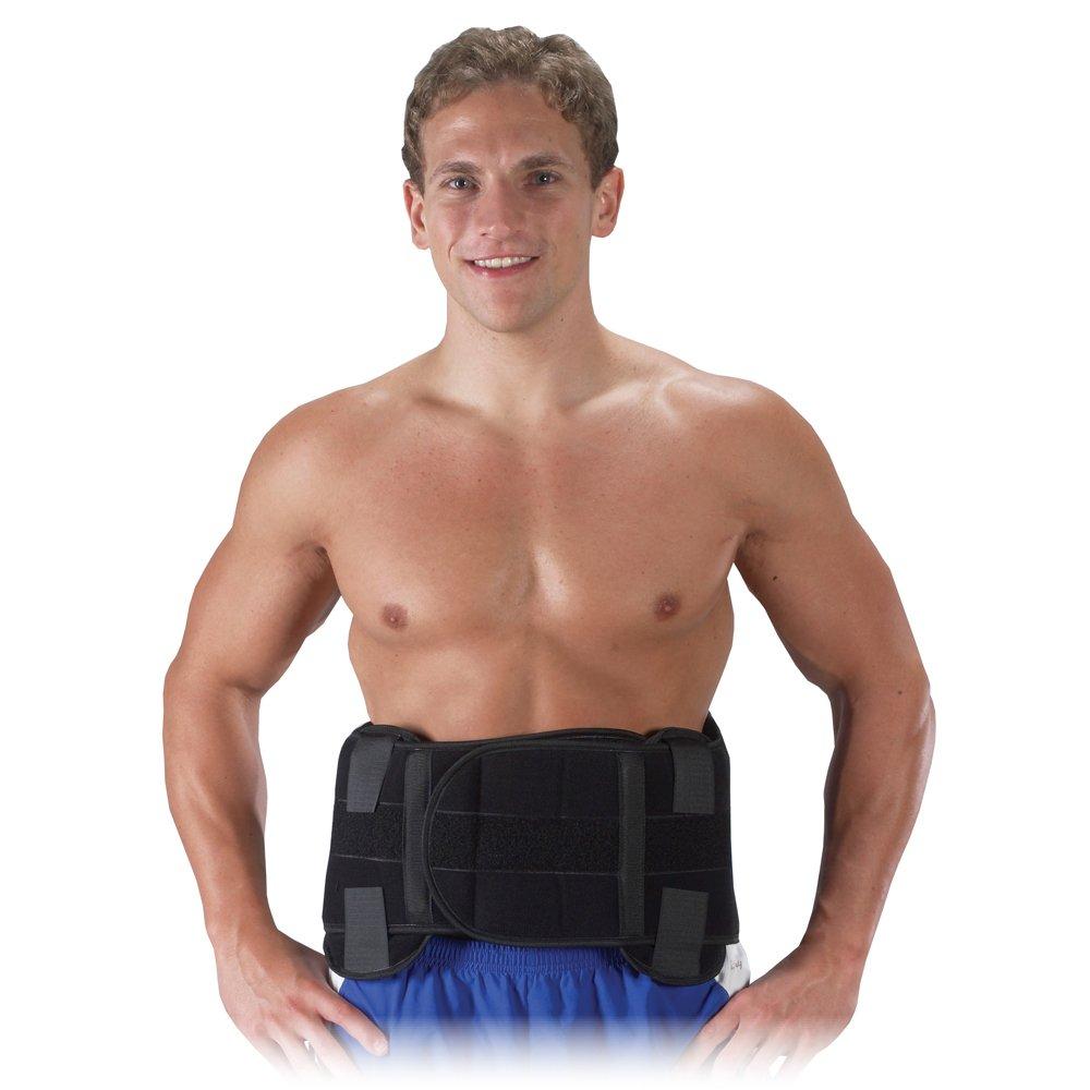 Bilt-Rite Mastex Health Lumbo Protech Extreme Back Support, Black, X-Large