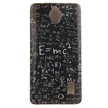 KATUMO® Carcasa Dura Huawei Y635, Funda Rigida Transparent Silicona Gel para Huawei Ascend Y635 Carcasa de Piel Funda Goma Case Cover Cascara-Fórmula