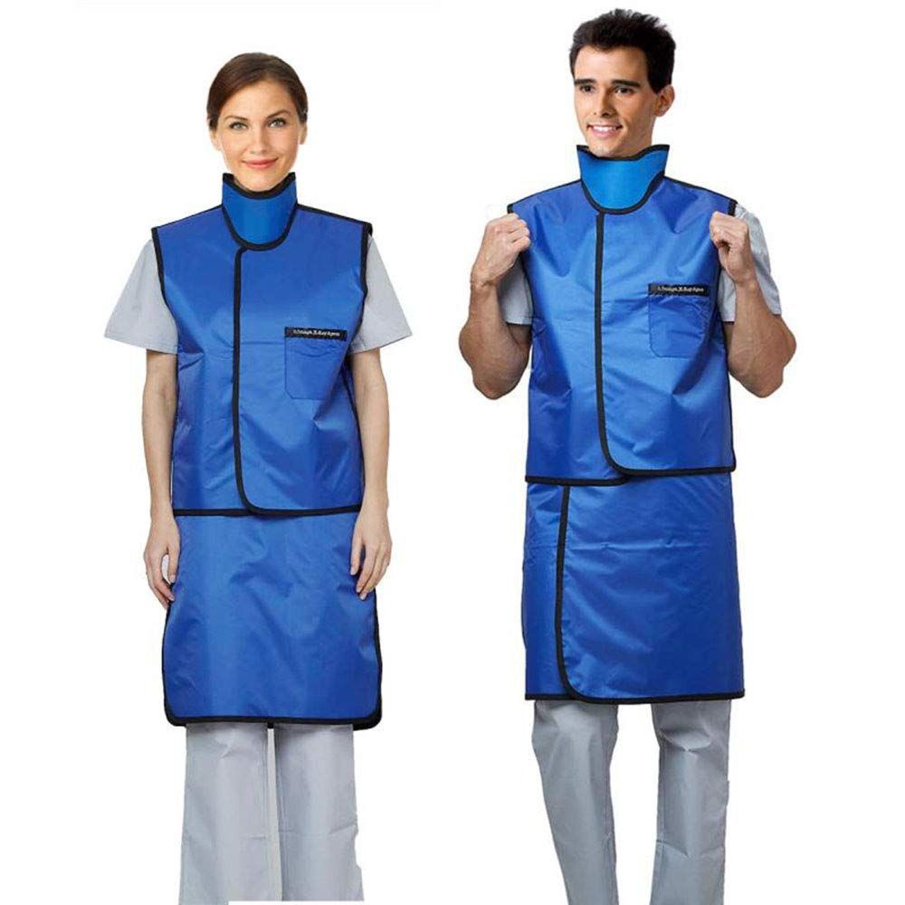 YTFLOT Radiation X-Ray Protection Upgrade 0.5mmpb Xray Lead Clothes with Thyroid Shield Collar Dental Lab Apron Radiation Protection Lightweight: Industrial & Scientific