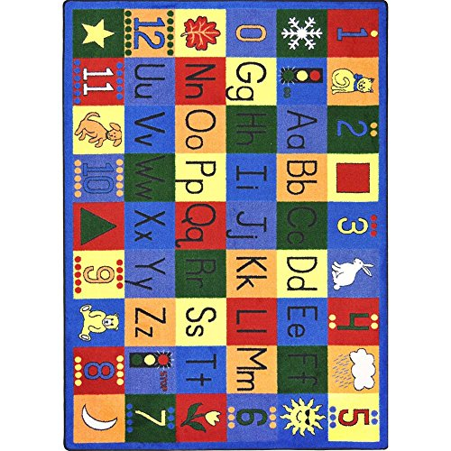 "Educational Around the Block Kids Rug Rug Size: 10'9"" x 13'2"