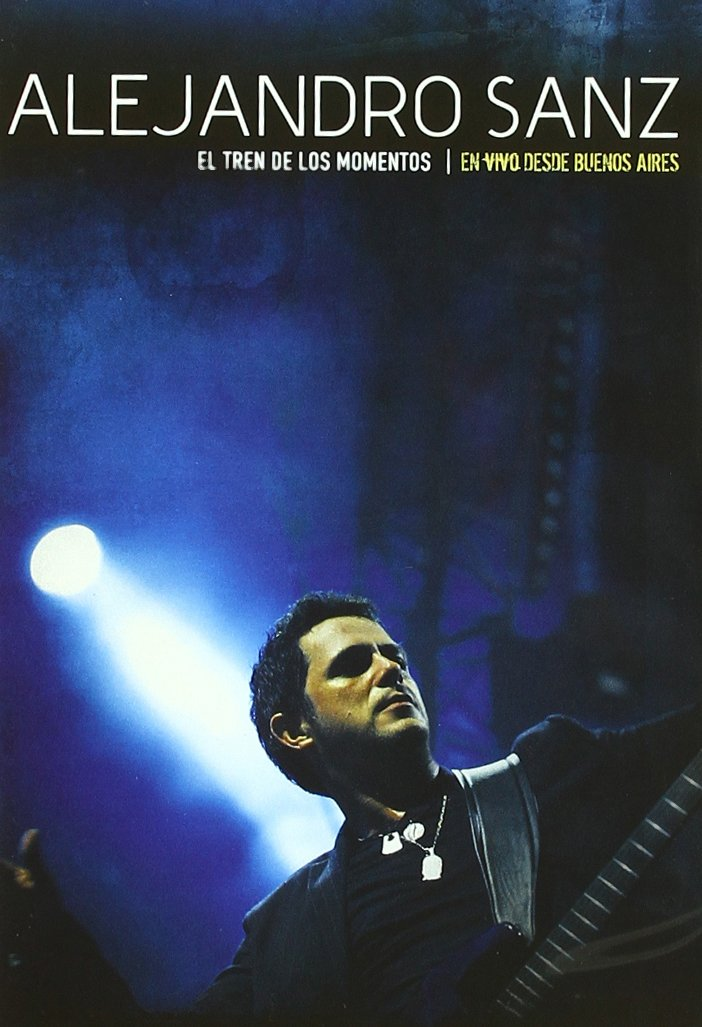 DVD : Alejandro Sanz - El Tren De Los Momentos-en Directo Des (DVD)