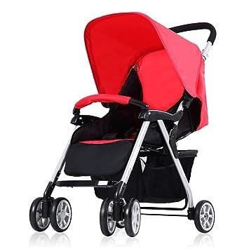 HJHY Cochecito de bebé, ultra-ligero puede estar sentado se puede plegar portátil bebé paraguas coche Transpirable, cómodo (Color : #5): Amazon.es: Salud y ...