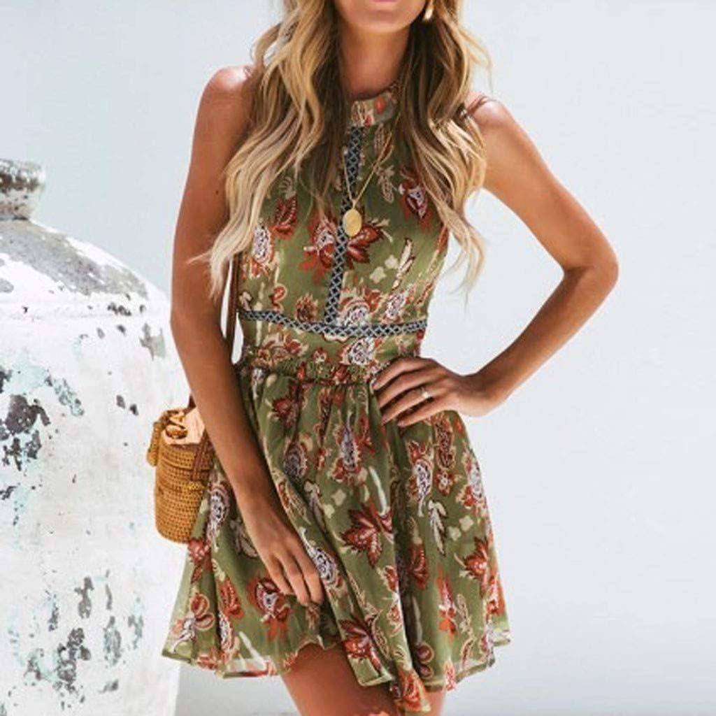 OPAKY Vestido Mujer de Encaje Corto Vestido de Fiesta Moda para ...