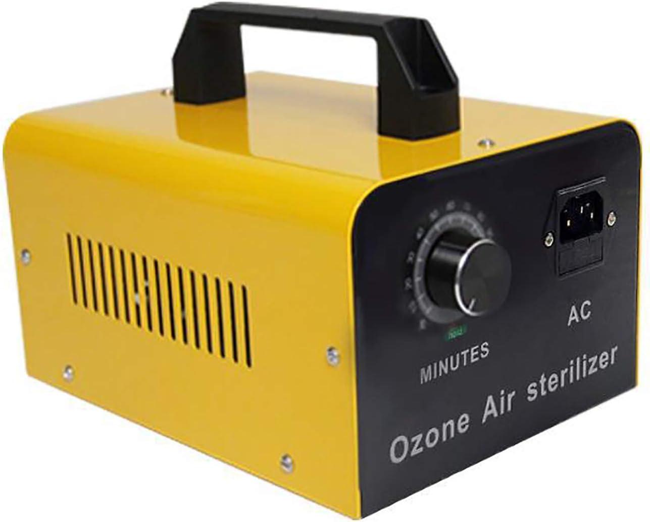JL Inicio Generador de ozono Comercial 8000 MG Purificador de Aire O3 Industrial Esterilizador Azul Desodorante