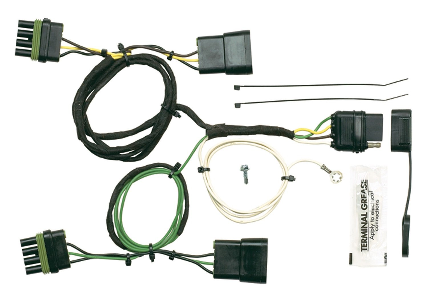 Hopkins 42605 Plug In Simple Vehicle Wiring Kit Automotive Jeep Wrangler Yj Diagram Harness And Electrical System Troubleshooting 95