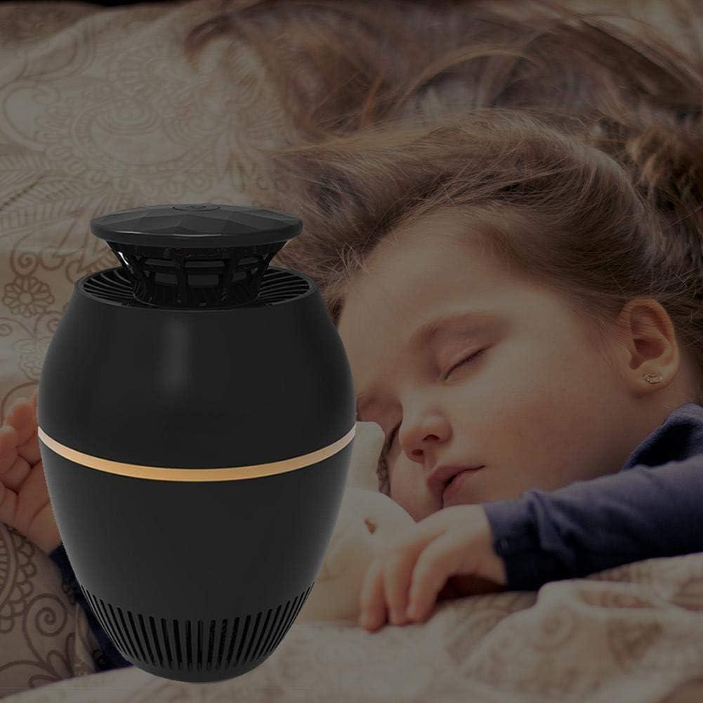Noir Lampe de pi/ège /à insectes /électrique /à diodes /électroluminescentes Lampe de pi/ège /à insectes /électrique Mosquito Killer Lampe de pi/ège /à insectes /électrique