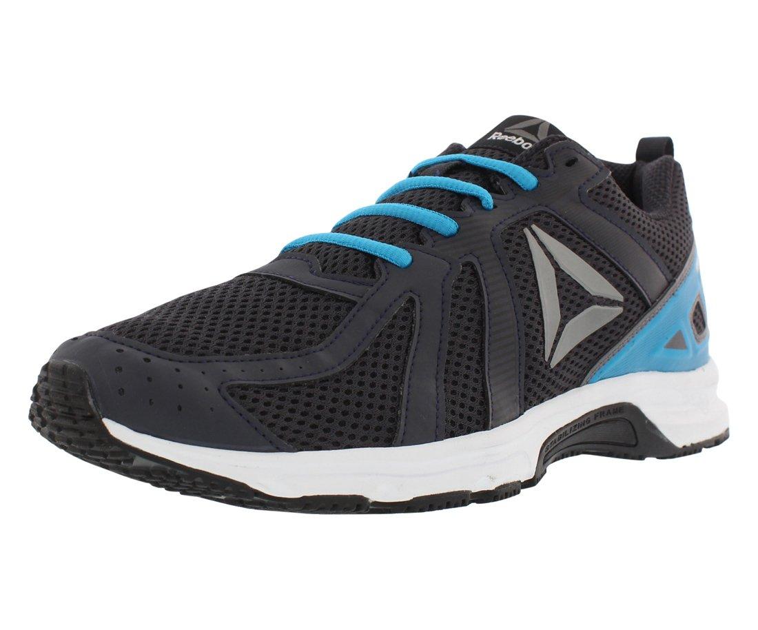 Reebok Runner Mt Running Men's Shoes B07CYPN4QS 9.5 M US Black/White/Blue