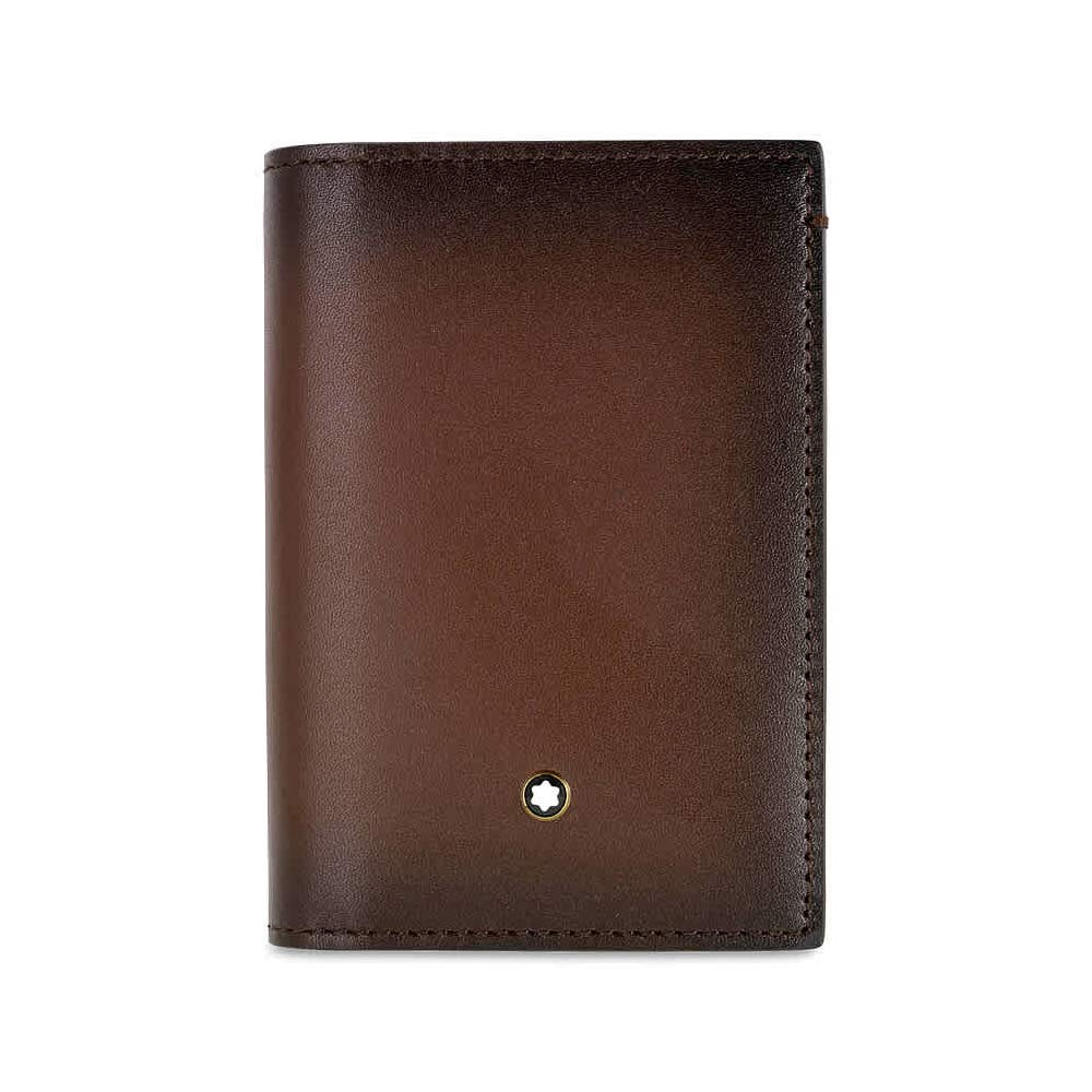 defe0f6bdfd905 Amazon.com: Montblanc Meisterstuck Selection Sfumato Business Card Holder  with Gusset 113167: Watches
