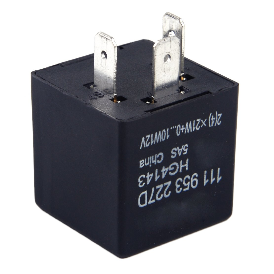 beler 3 prong Turn Signal Flasher Light Relay 111953227D Fit for Audi VW Volkswagen Porsche Volvo