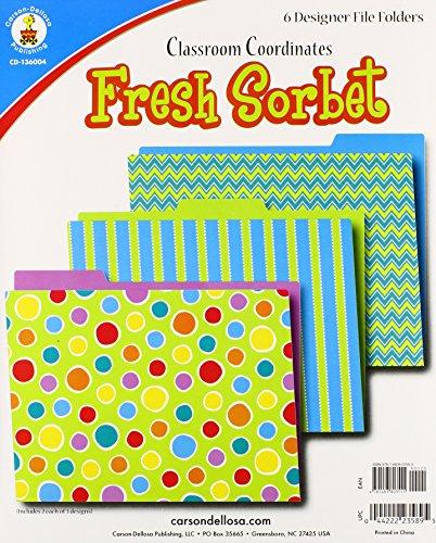 Fresh Sorbet File Folders - Fresh Sorbet