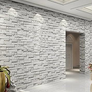 3D-Moderne, einfache Hintergrund Wand Papierrolle Ziegel Stein ...