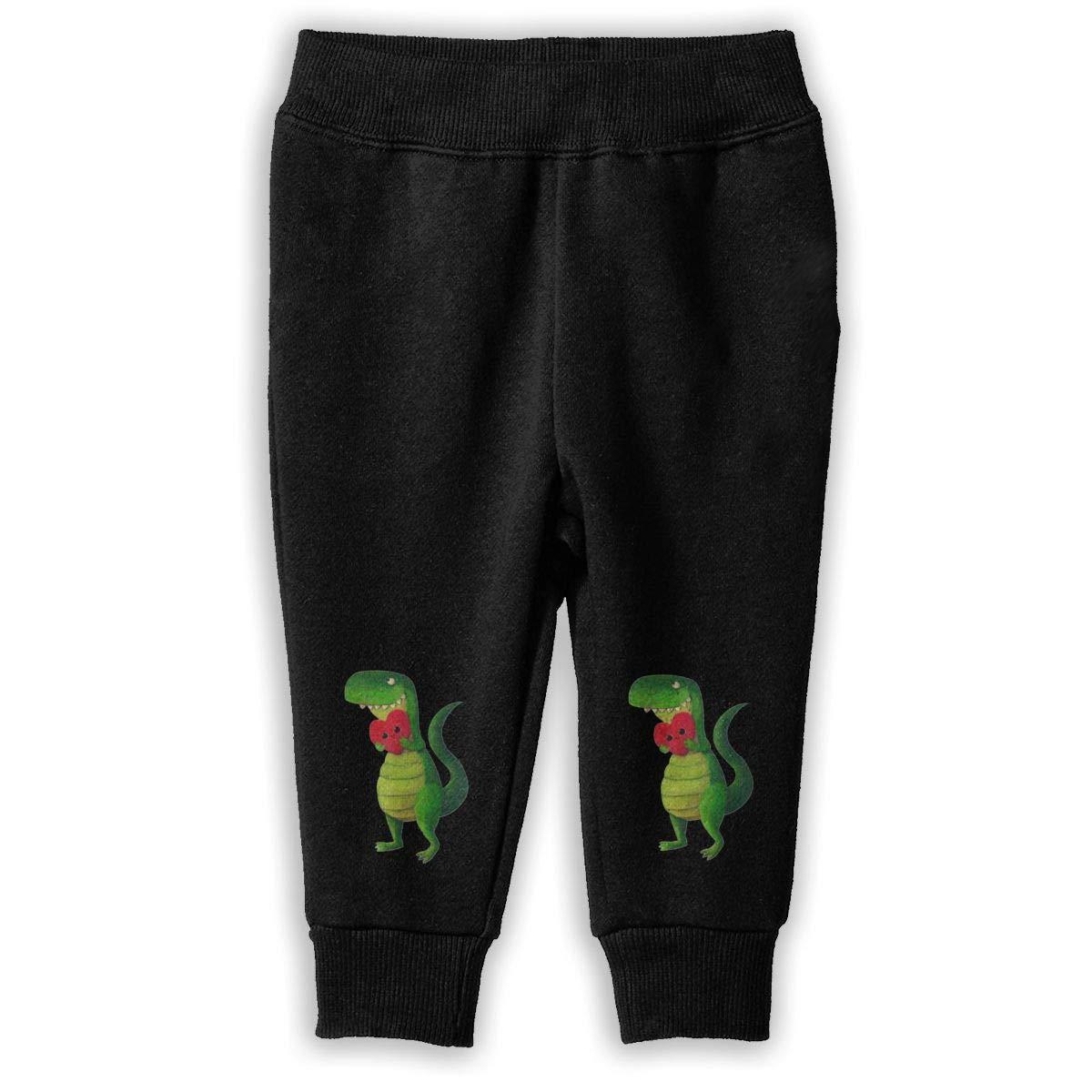 Rawr Dinosaur Love Kids Sweatpants