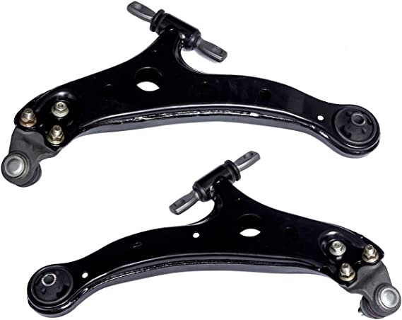 For Toyota Camry Lexus ES300 Pair Set of 2 Front Lower Control Arms Mevotech