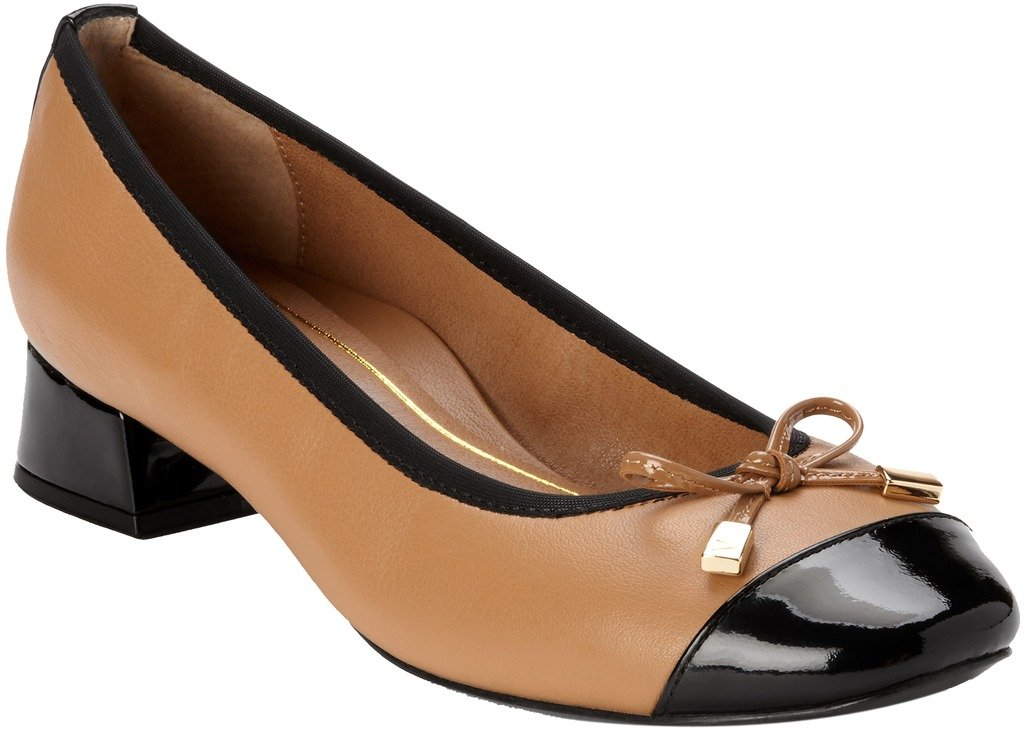 Vionic New Women's MOD Daphne Flat Tan 8