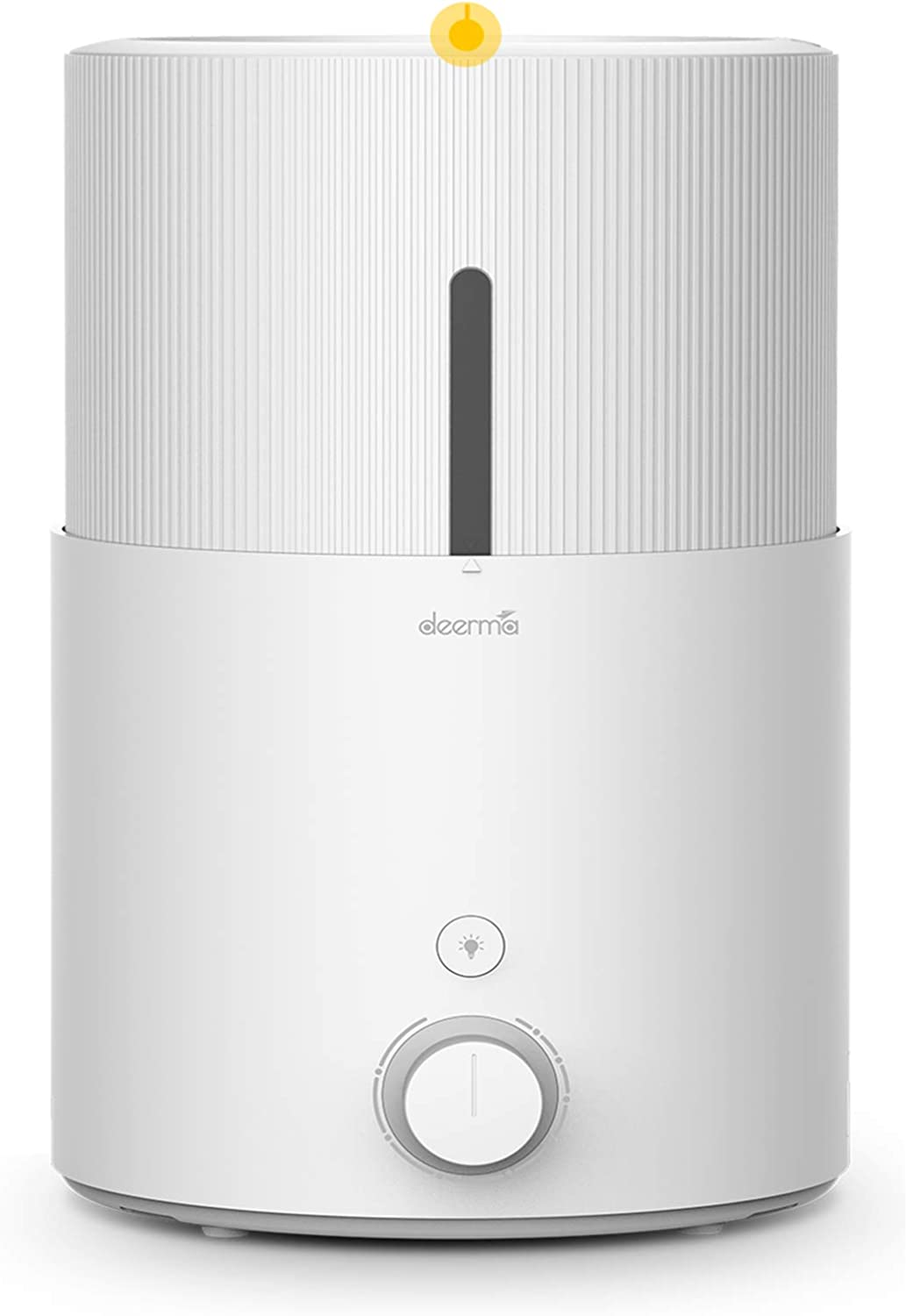DEERMA 5L Top Fill Ultrasonic Cool Mist Air Humidifiers for Home Baby Large Room Bedroom Office, 2 In 1 Humidifiers and Essential Oil Diffuser, Night Light, Auto Shut Off, Adjustable Mist Volume