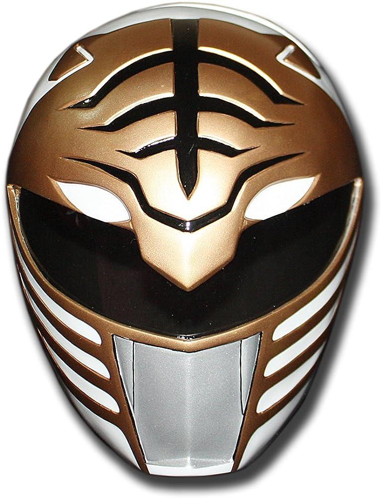 White Power Ranger Helmet Halloween Costume Cosplay Mighty Morphin Mask