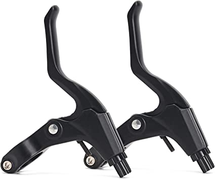1 Pair NEW Bicycle Lightweight V Brake Mountain Bike Levers 4 Colors US
