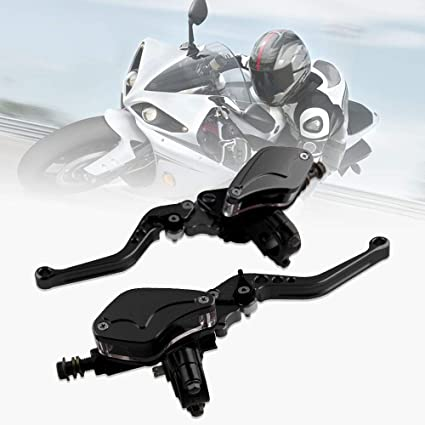 """Universal Clutch Lever with Perch Assembly Motorcycle ATV ATC Dirt Bike 7//8/"""" bar"""