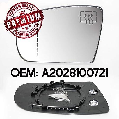 Carjoy 650670 Außenspiegel Beheizbar Weit Winkel Glas Spiegelglas Links Fahrerseite Für E Klasse W210 Oem A2028100721 Auto