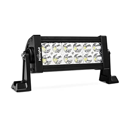 Amazon nilight 7 36w spot led work light off road led light nilight 7quot 36w spot led work light off road led light bar 12v driving lights aloadofball Image collections