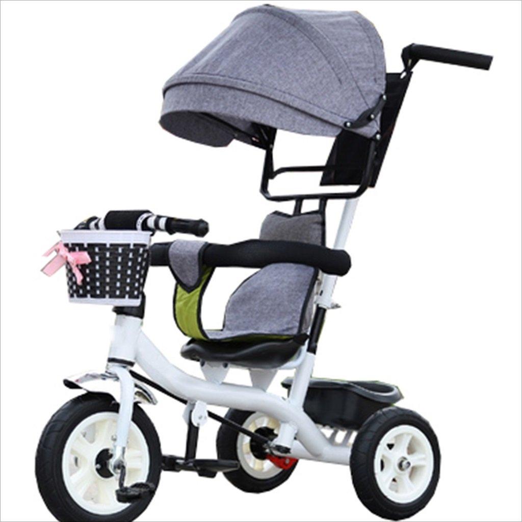 子供の屋内屋外の小さな三輪車自転車の男の子の自転車6ヶ月6歳の赤ちゃんの三輪車の女の子の自転車三輪トロリー天井、ゴムホイール (色 : 7) B07DVB8HWV 7 7