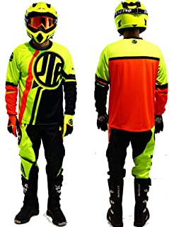 Amazon.es: Leopard Traje de Motocross para Niños Bicicleta ...