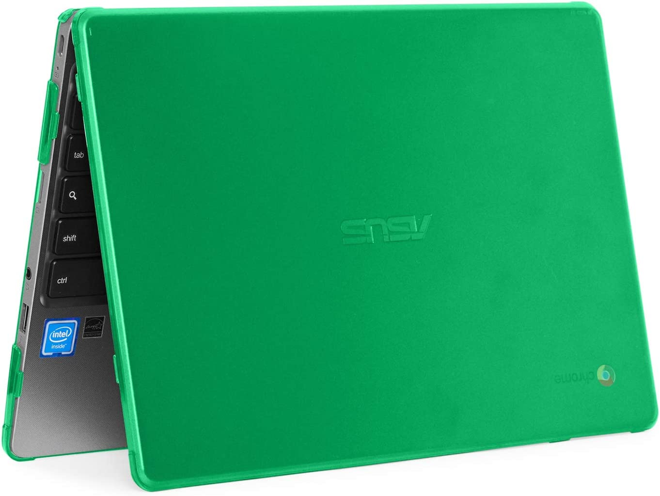 mCover Hard Shell Case for 2019 11.6-inch ASUS Chromebook C223NA/CX22NA Series Laptop (Green)