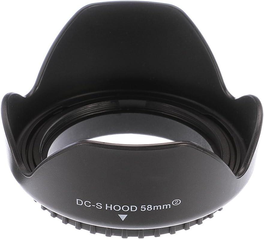 Fotga 77mm Petal Flower Lens Hood for Canon Nikon Sony Pentax DSLR Cameras Lens Filter Cap