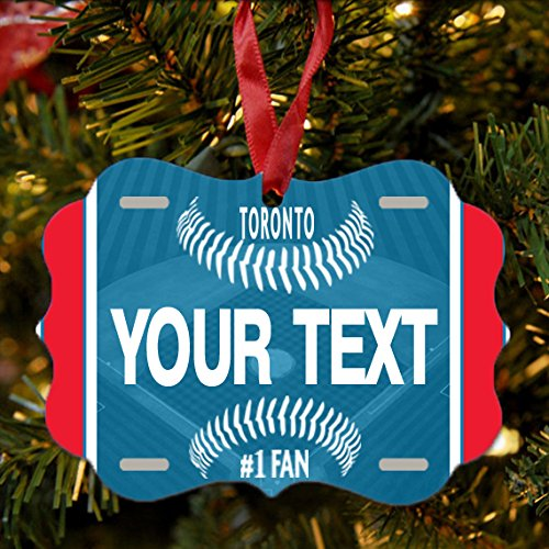 Christmas Trees Toronto: Blue Jays Tree Ornament, Toronto Blue Jays Tree Ornament