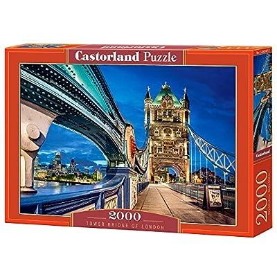 Castorland C200597 Tower Bridge Di Londra Puzzle Da Pezzi