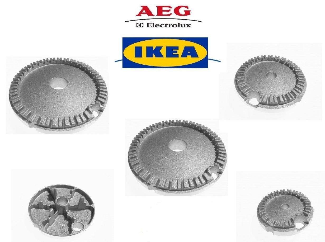 AEG - IKEA quemadores cocina a gas hobs 5 Fireworks 2 G + 2 ...