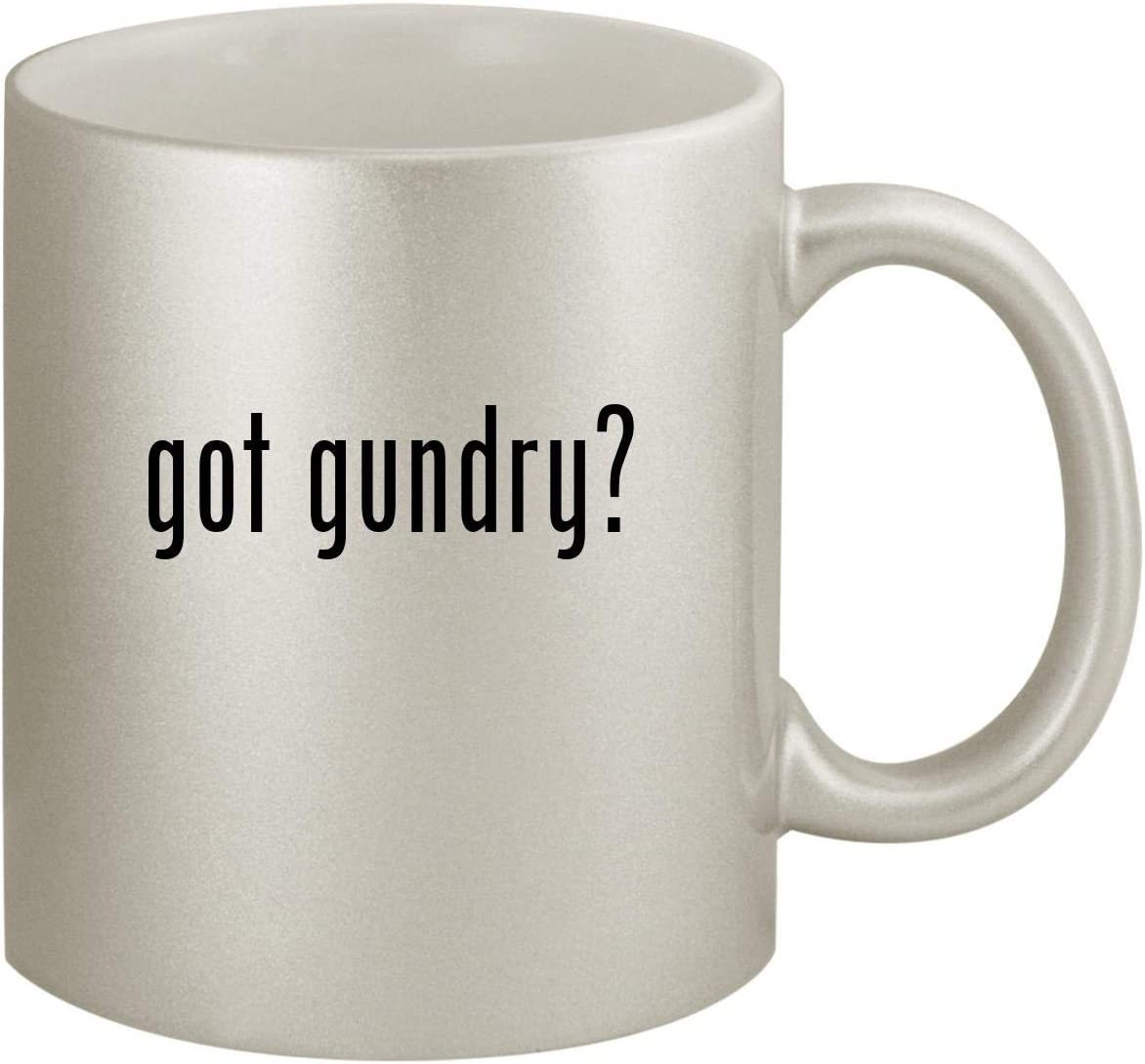 got gundry? - Ceramic 11oz Silver Coffee Mug, Silver