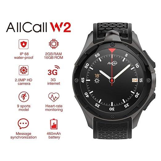 ... iPhone 7, 7S Plus SIM,Pulsera Actividad Inteligente Hombre Niños, Reloj Fitness con GPS, Podómetro,Monitor de Ritmo Cardíaco: Amazon.es: Relojes