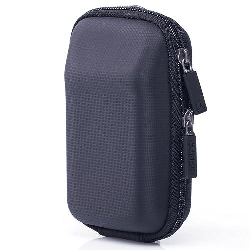 CAISON Shock resistant durable Portable Camera Case Holder for CANON PowerShot SX730 HS SX620 HS/SONY Cyber-Shot DSC HX90 HX60 WX500 RX100 III IV V/Panasonic Lumix DMC TZ100 TZ90 TZ93 TZ80 LX15