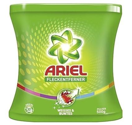 8 x Ariel quitamanchas polvo Weisses & Pegatina, ...