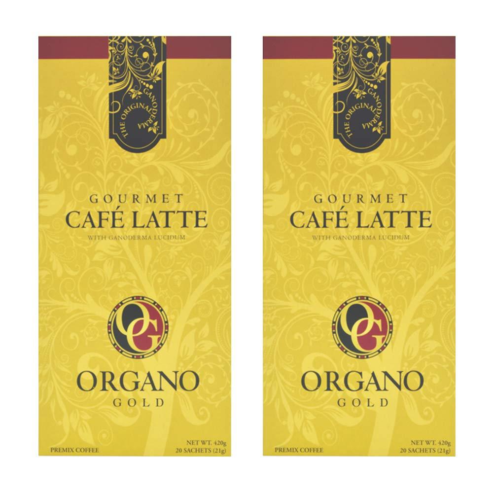 Organo Gold Organic Ganoderman Premium Latte - (2 Boxes) by Organo
