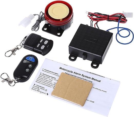 Sistema de alarma de seguridad Weishazi para scooter, control ...