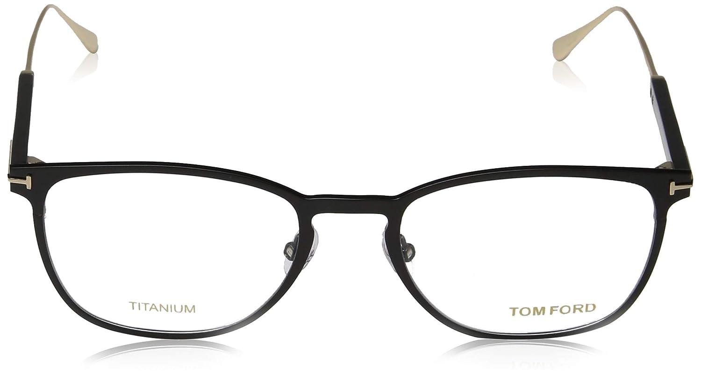 TOM FORD Eyeglasses FT5483 001 Shiny Black