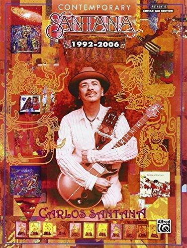 Santana: Contemporary Santana (1992-2006) Guitar Tab by Carlos Santana - Mall Santana